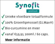 Synofit: vloeibare groenlipmossel met curcumine