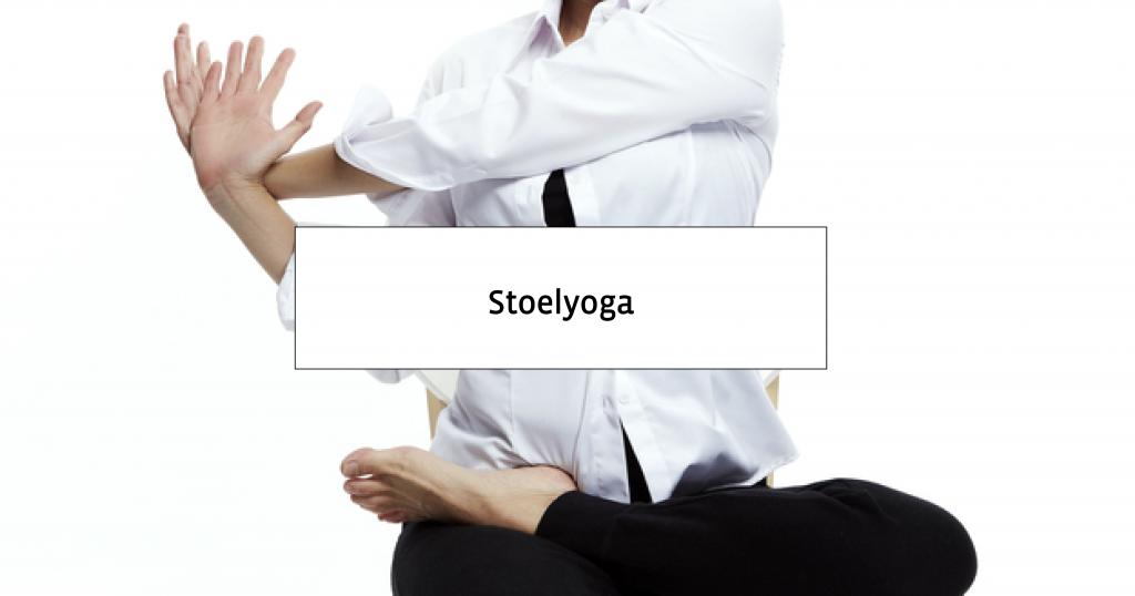 Uitgelezene Stoelyoga voor Ouderen & Senioren: bekijk de Oefeningen! KK-32