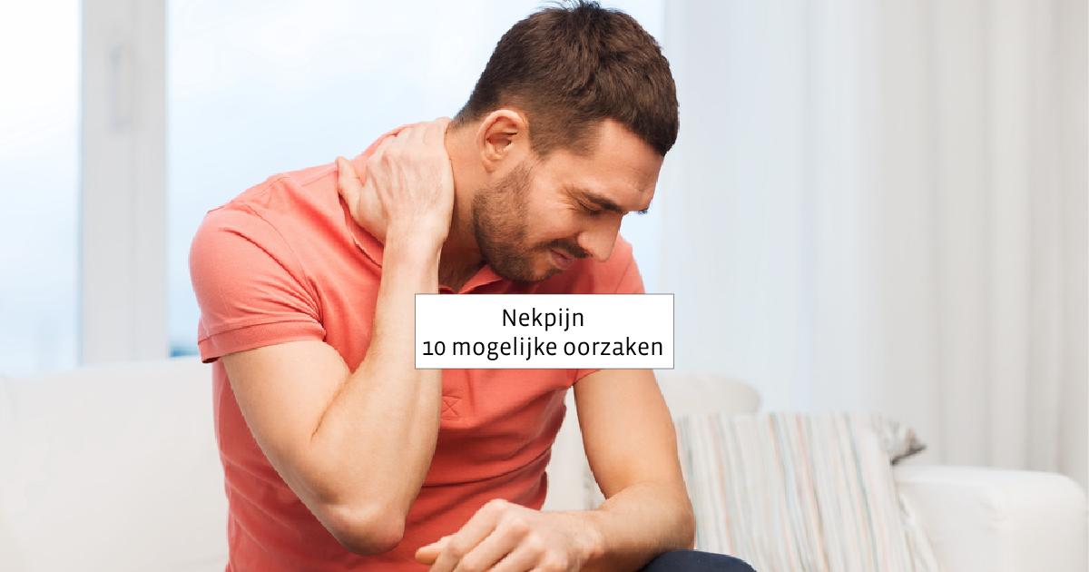 tips tegen stijve nek