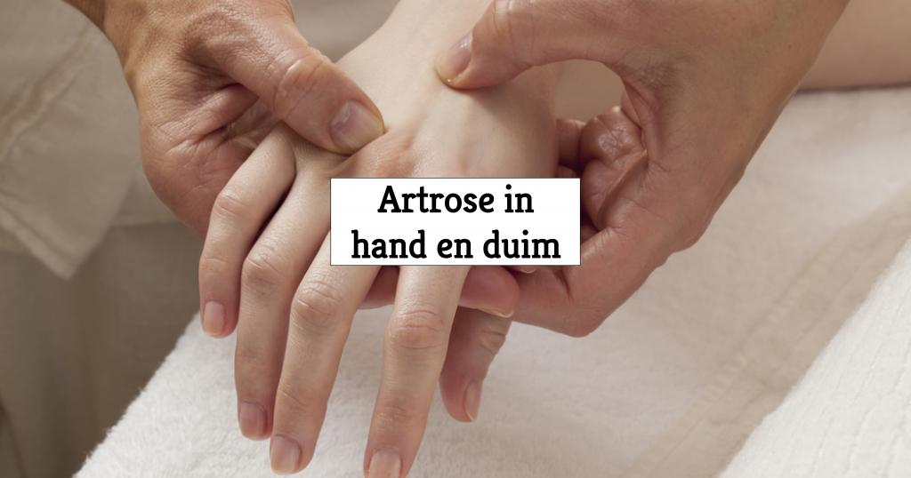 handartrose symptomen