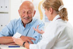 Reumatoïde artritis man