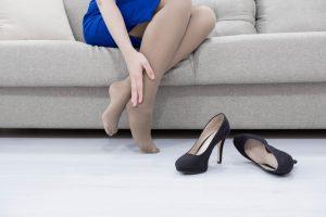 gezwollen voeten