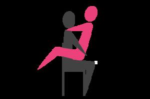 Reuma en seksualiteit zittend